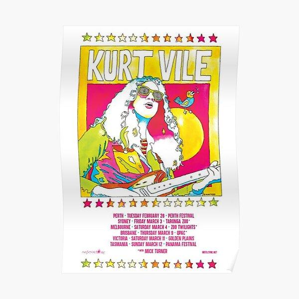 Kurt Vile - Tour Poster Poster