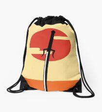 Mochila de cuerdas Samurai Champloo minimal