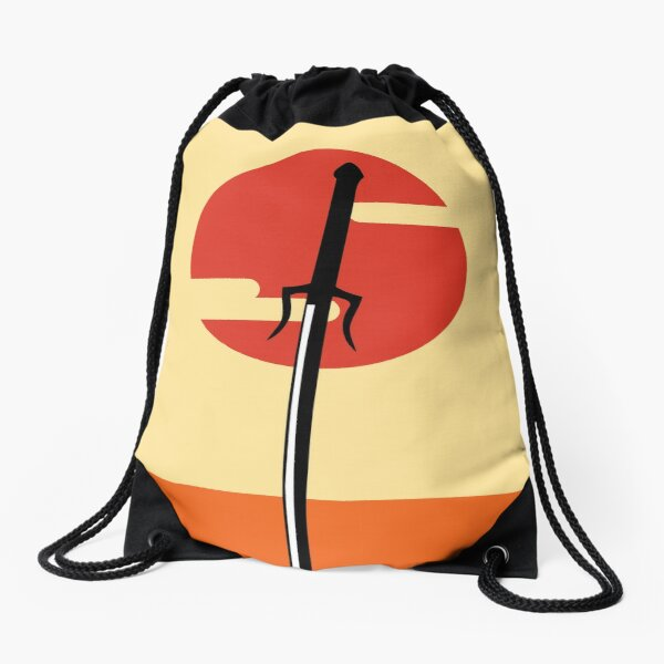 Samurai Champloo minimal Drawstring Bag
