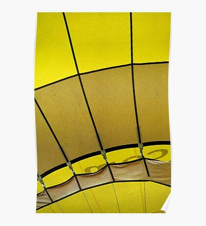 Hot air: Yellow Poster
