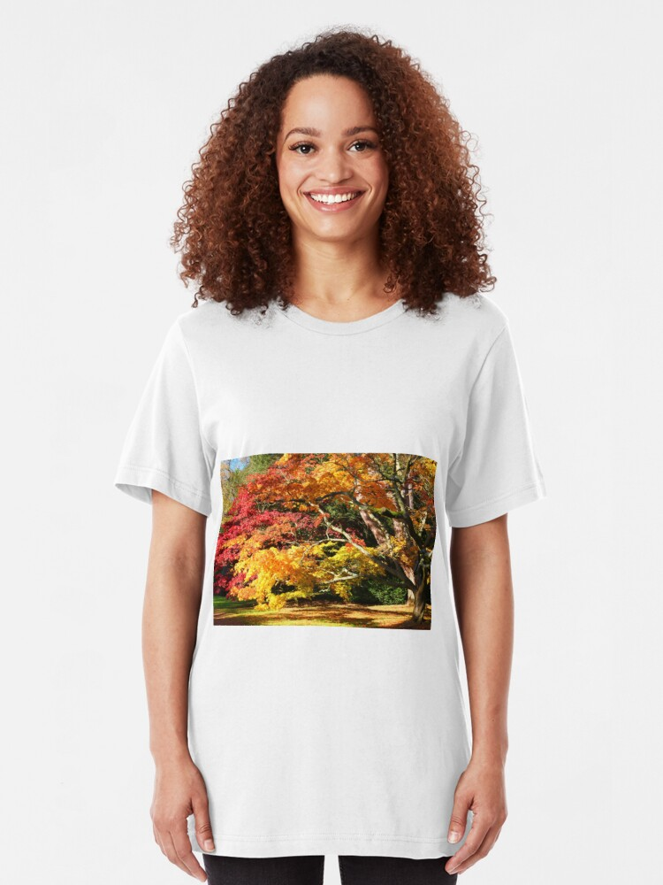 Alternate view of Autumn Acer Glade Slim Fit T-Shirt