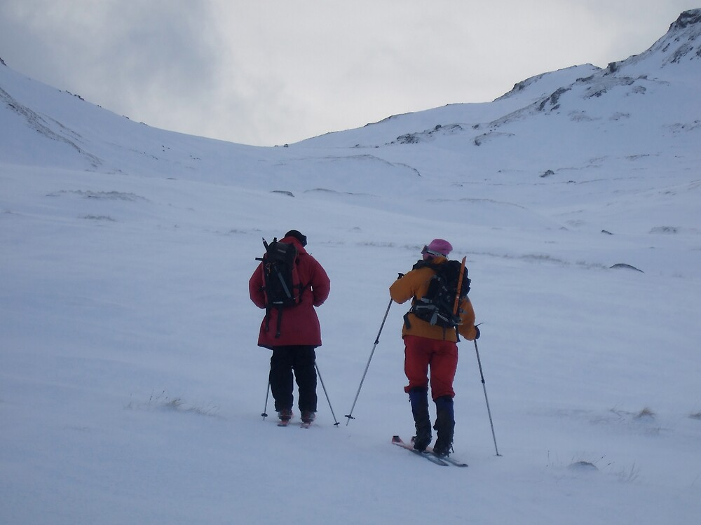 Ski touring at the back end of Ben Lawers by benmacdui