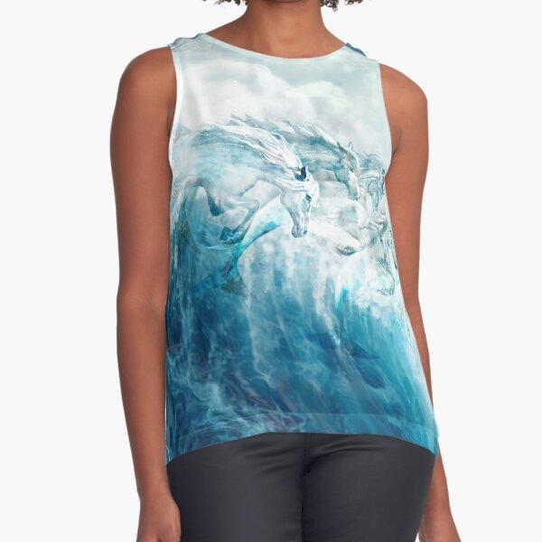 Sea Horses Sleeveless Top