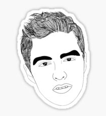 Dave Franco Sticker
