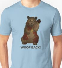 ROBUST BEAR OURS RBST WOOF BACK T-Shirt