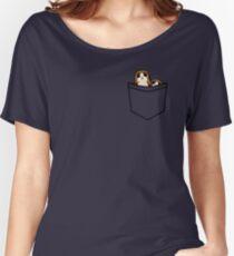Pocket Porg Women's Relaxed Fit T-Shirt