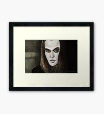 Buffy Vs. Dracula - Dracula - BtVS Framed Print