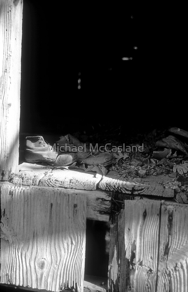 Old Shoes by Michael McCasland