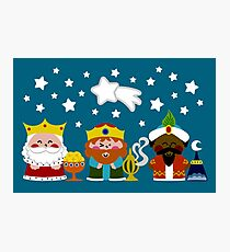 Three Wise Men Photographic Print