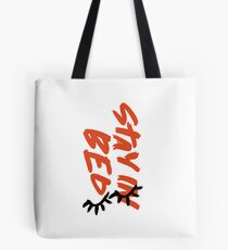 Stay In Bed Design Tote Bag