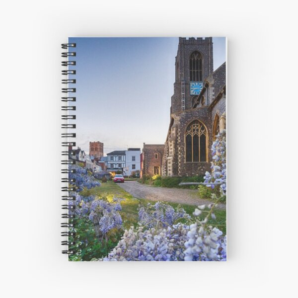 St Giles Wisteria Spiral Notebook
