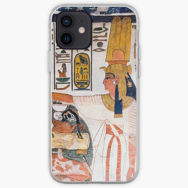 Nefertari Tomb Wall iPhone Soft Case