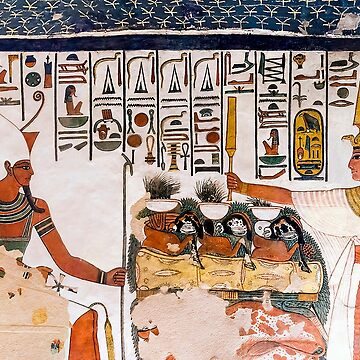Nefertari Tomb Wall by CRWPROD