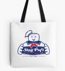 Stay Puft logo Tote Bag