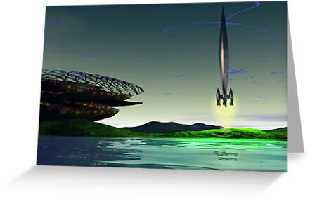 Spaceport by Syd Baker