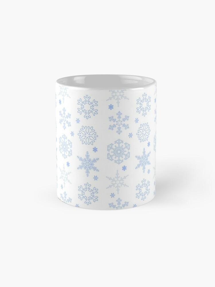 Alternate view of Snowflakes! Mug