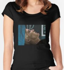 Out of my Mind - Spike - BtVS Women's Fitted Scoop T-Shirt