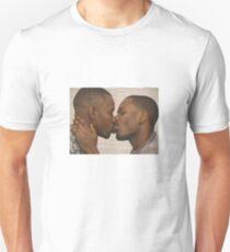 Two Black Men Kissing Meme Unisex T-Shirt