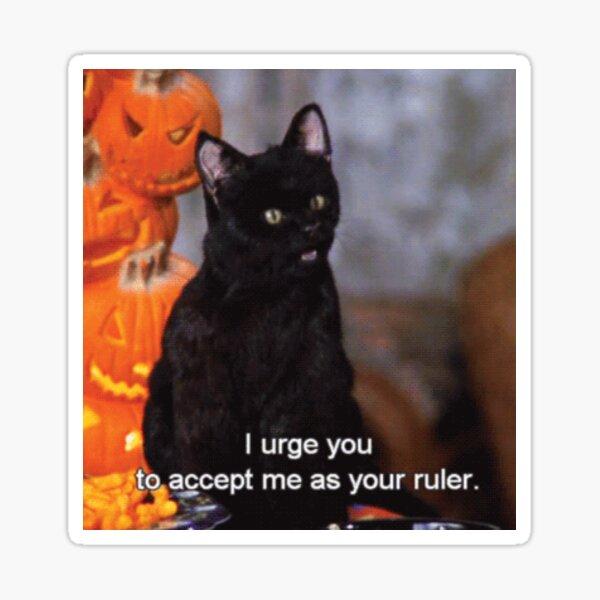 Bow to Salem Sticker