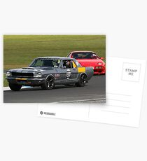 Silver Stang Postcards