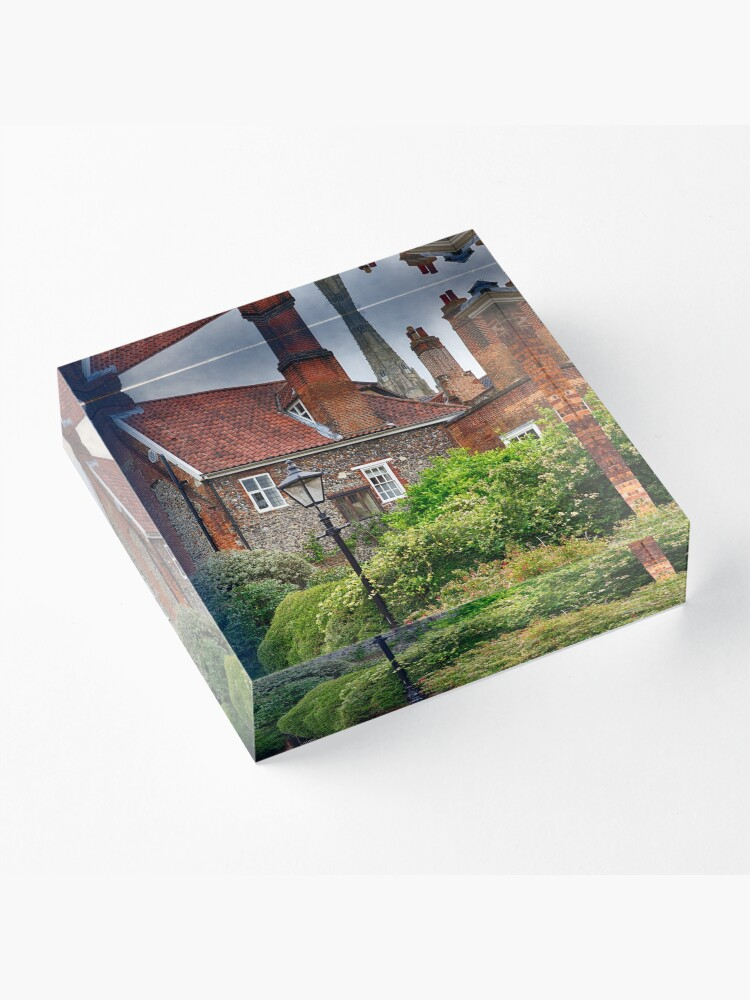 Alternate view of Ferry Lane, Lower Close, Norwich Acrylic Block