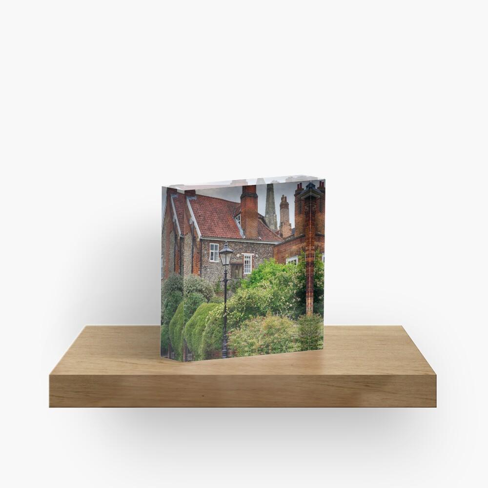 Ferry Lane, Lower Close, Norwich Acrylic Block