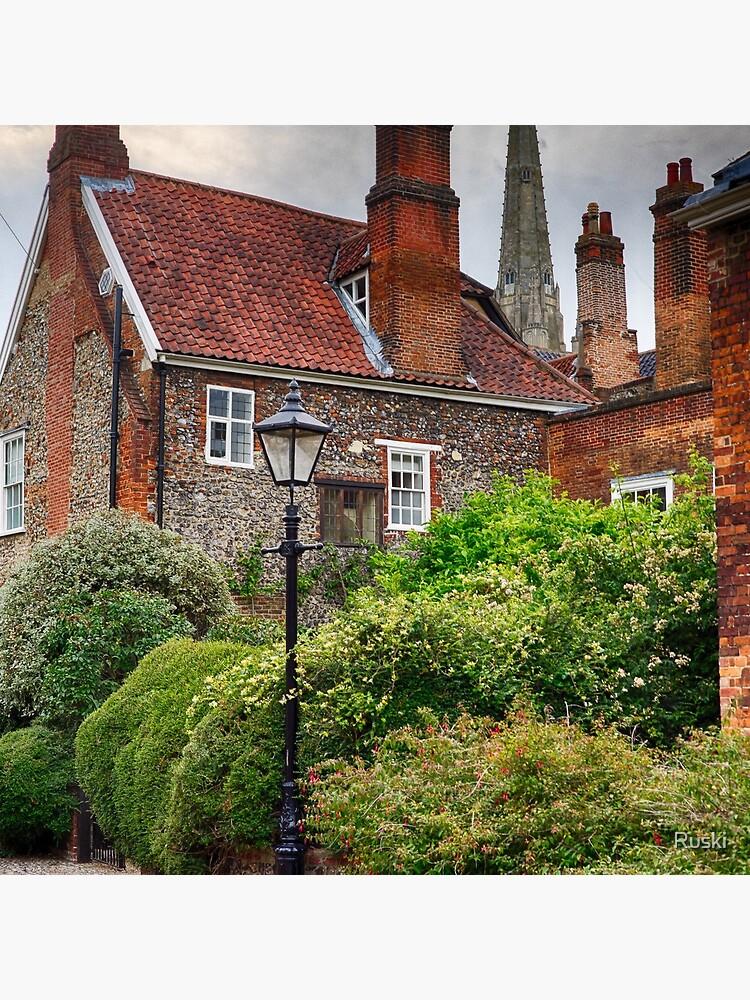 Ferry Lane, Lower Close, Norwich by Ruski
