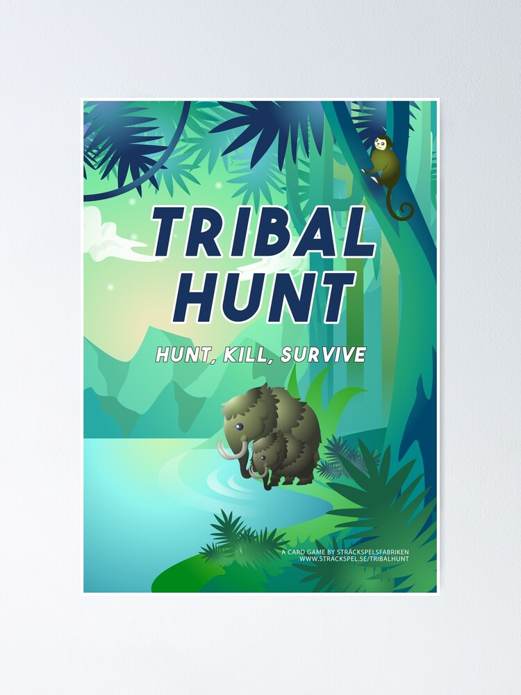Alternate view of Tribal Hunt Official Poster Poster