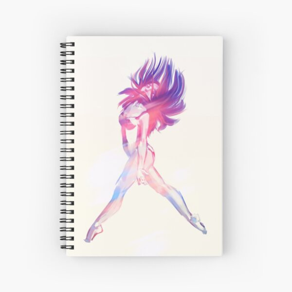 Dance - Rainbow - Universe Spiral Notebook