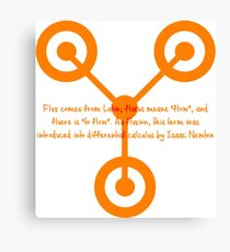 Back to the Future - Flux Capacitor Canvas Print