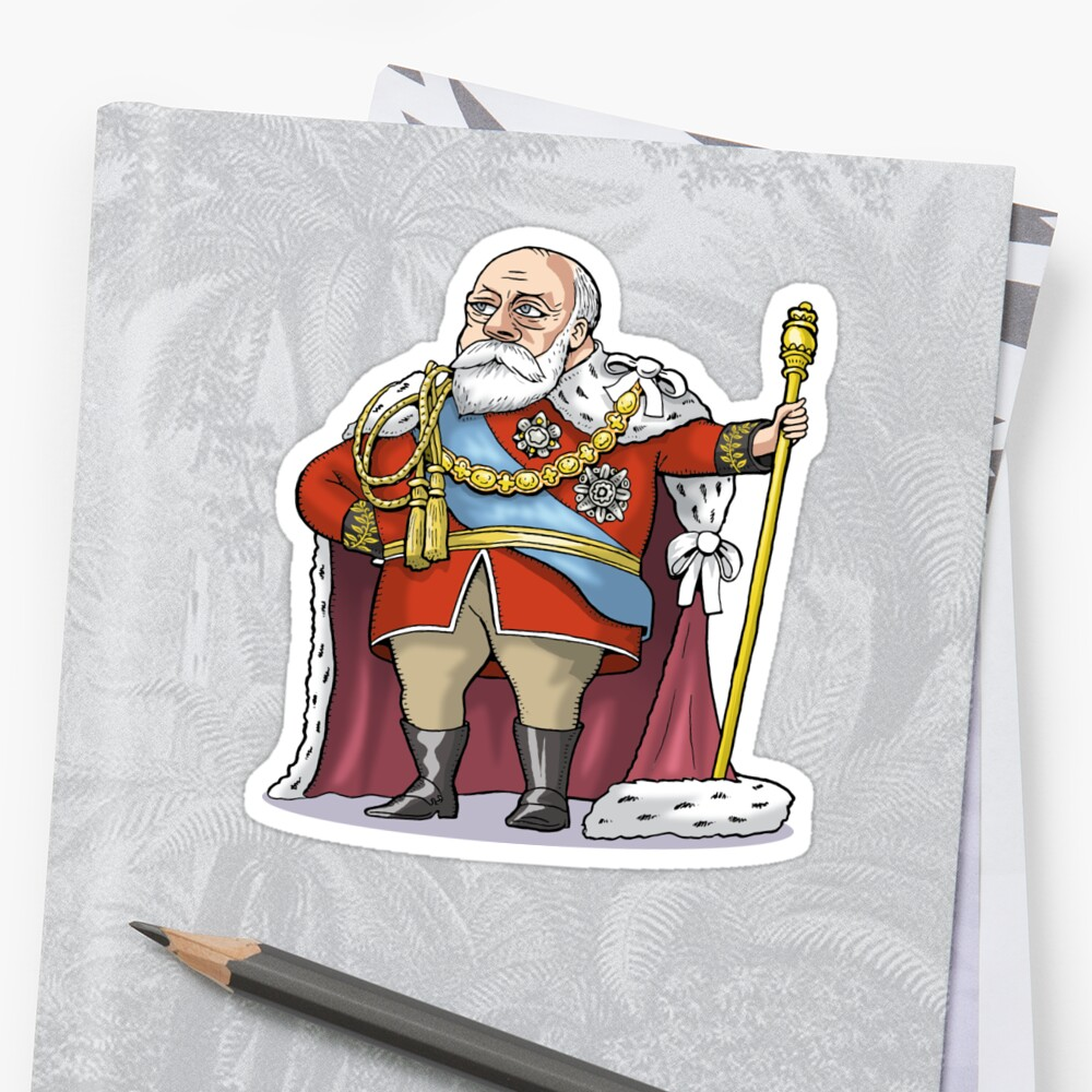 King Edward VII by MacKaycartoons
