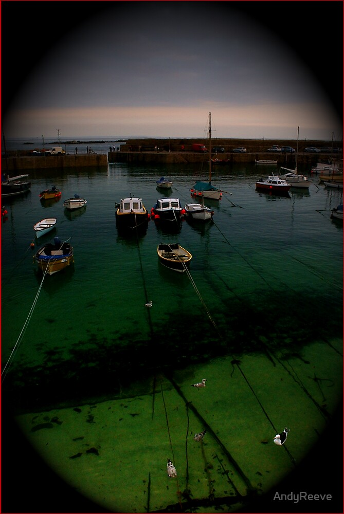 Mousehole Harbour by AndyReeve