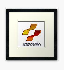 16 bit konami Framed Print