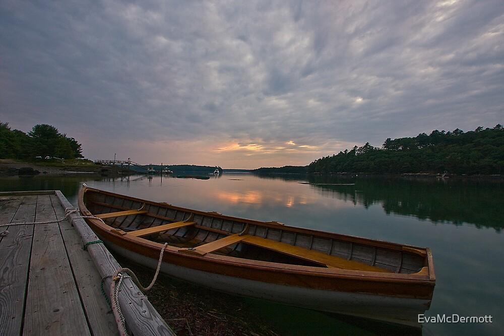 Subdued Sunset by EvaMcDermott