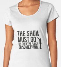 The show. T-shirt premium femme