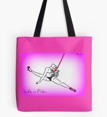"""Life in pink 4"" Tote Bag"