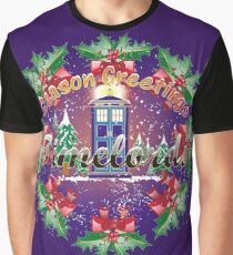 TIMELORDS GREETINGS Graphic T-Shirt
