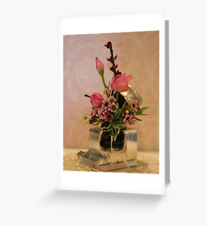 Petite Roses in the Inkwell © Greeting Card