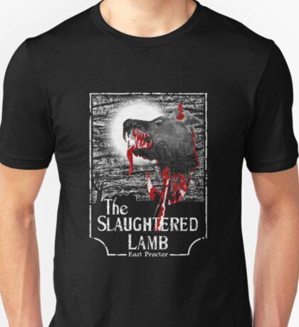 Amerikanischer Werwolf in London - Revamped (Transparentes Bild) T-Shirt