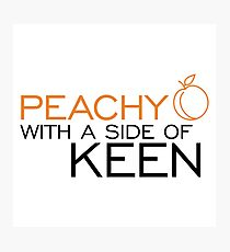 Peachy Keen Photographic Print