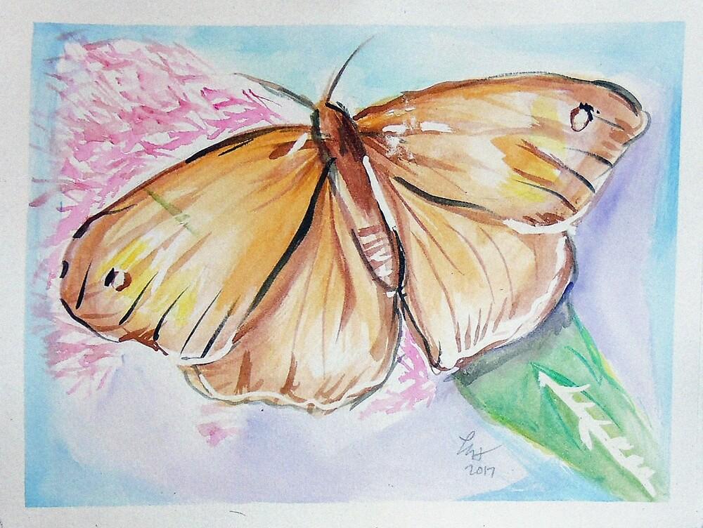 Butterfly 4 by Loretta Nash