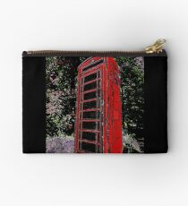 Red Phone Box Studio Pouch