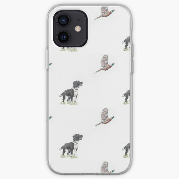 Primrose - Spaniel Gundog Pheasant iPhone Soft Case
