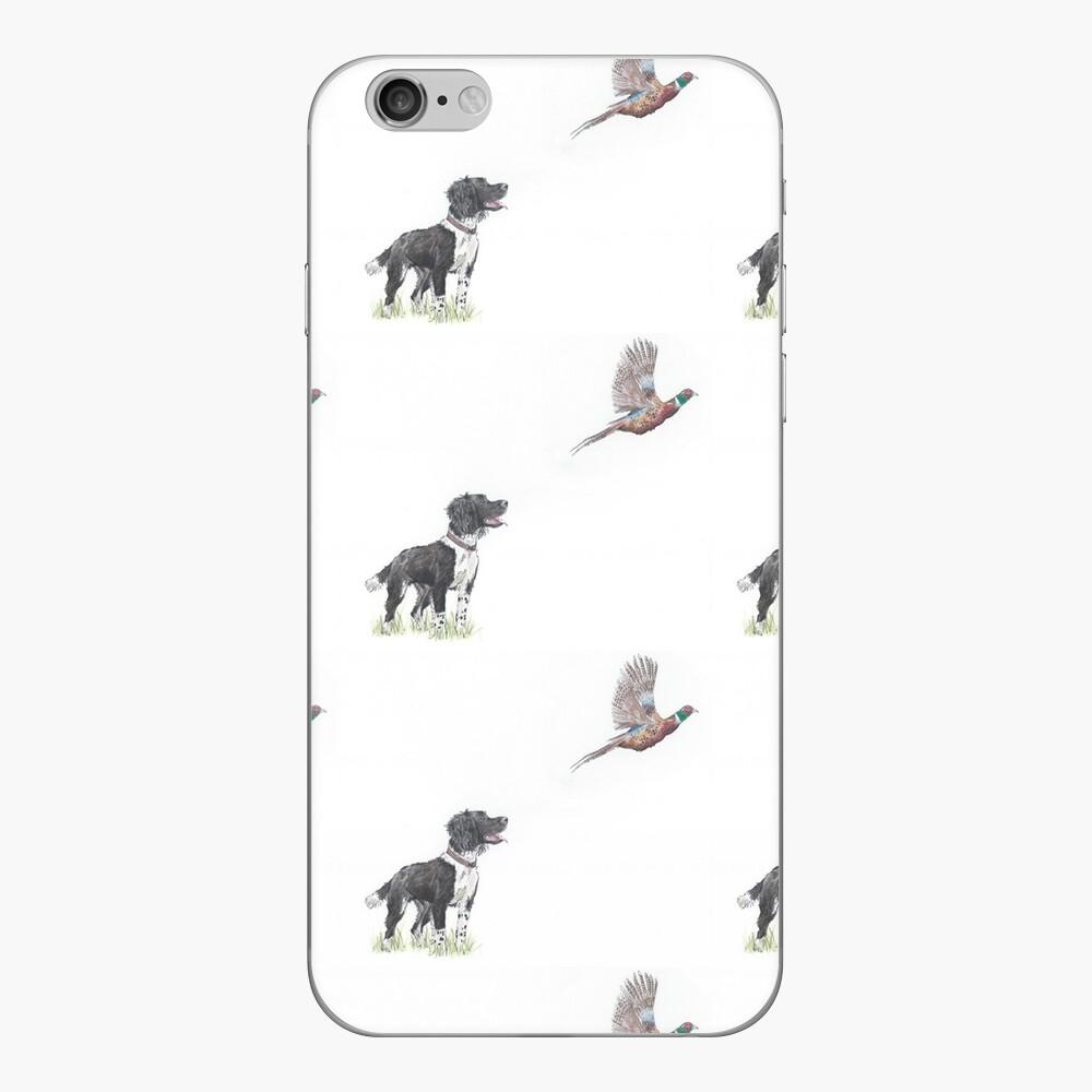 Primel - Spaniel Gundog Fasan iPhone Klebefolie
