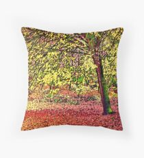 Inspired by Vincent Van Gogh Throw Pillow