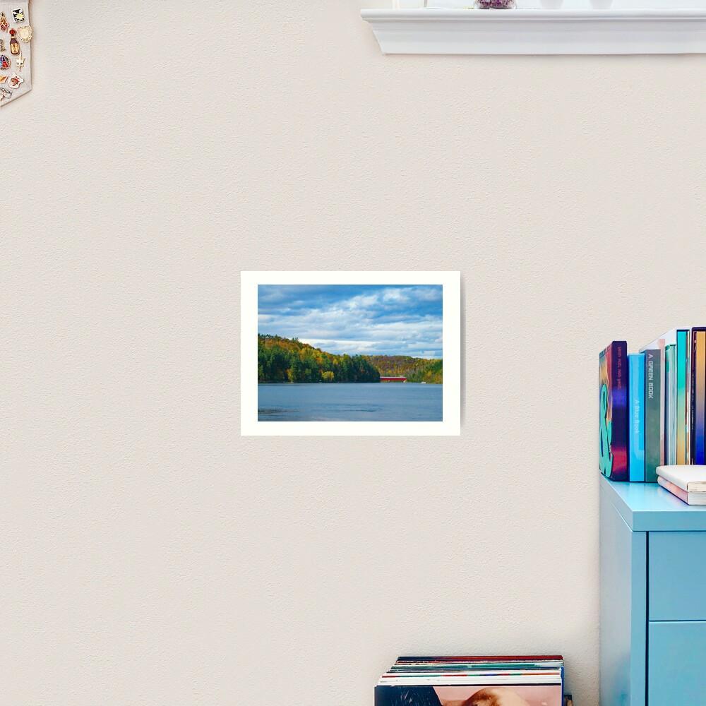 Wakefield Bridge Art Print