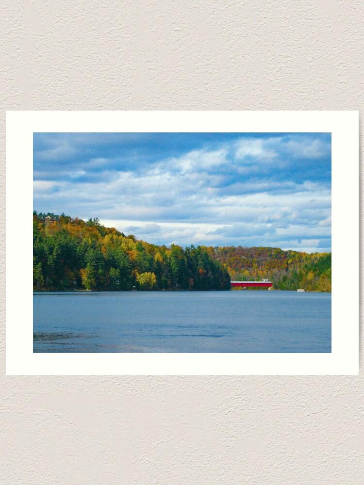 Alternate view of Wakefield Bridge Art Print