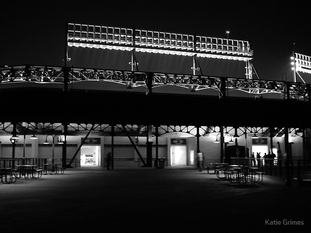 Night At The Ballpark by Katie Grimes