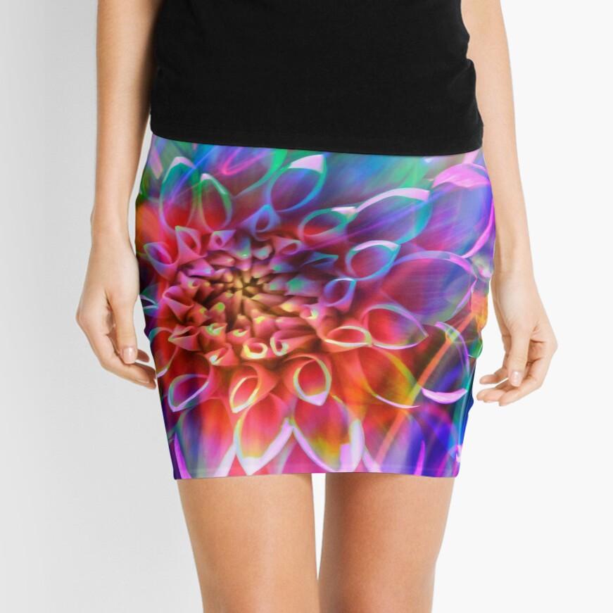 """Crosshairs of a Perpetual Doppler Shift"" Mini Skirt"