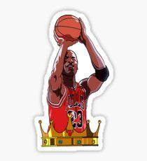 king mj sticker